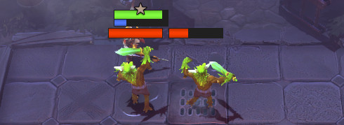 Dota Underlords was made in 2019 and it has the health mechanic.